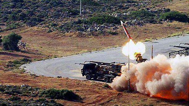 Запуск балістичної ракети