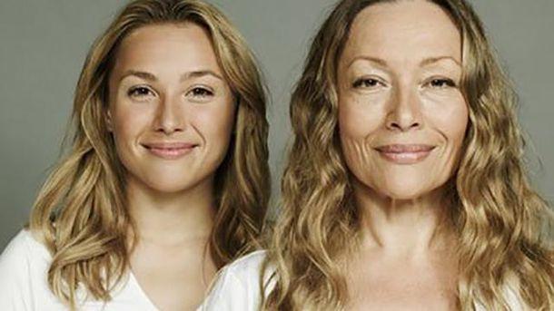 Женщины будут выглядеть в старости так, как их матери