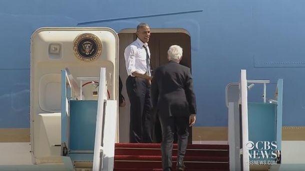 Обаме не терпелось вернуться домой