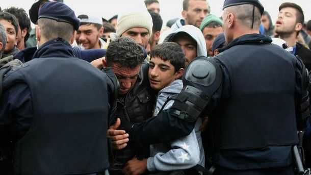 В Германии местные подрались с мигрантами