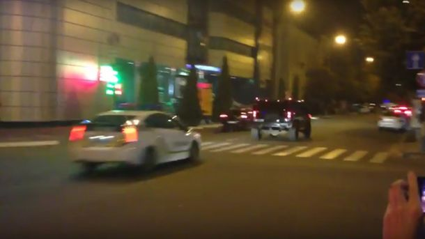 ВКременчуге происходит погоня: есть пострадавшая