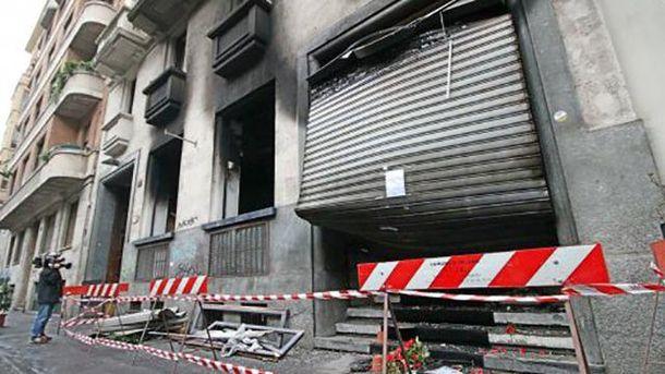 Стався вибух в барі в Мілані