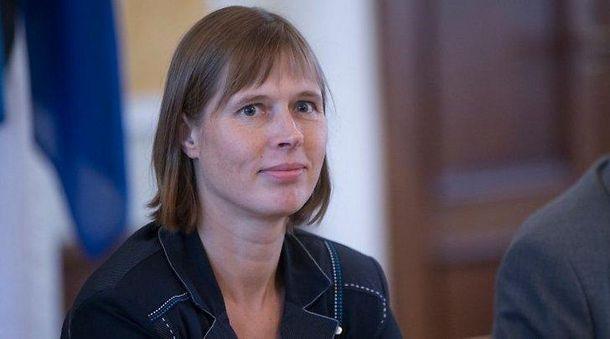 Керсті Кальюлайд обрано президентом Естонії