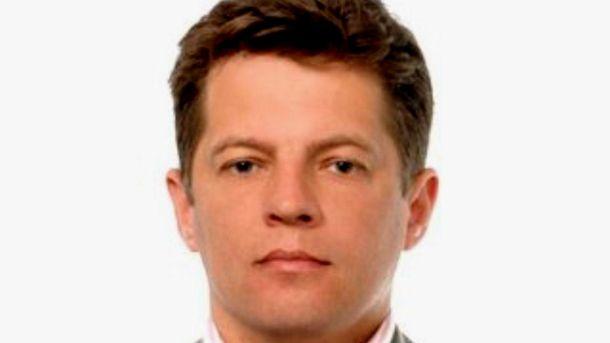 Журналист Роман Сущенко