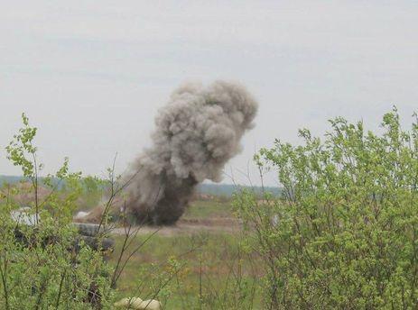 Наполигоне возле Львова произошел взрыв, есть раненые
