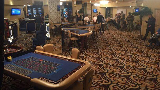 Вцентре украинской столицы незаконно работало VIP-казино
