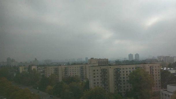 Смог в Киеве