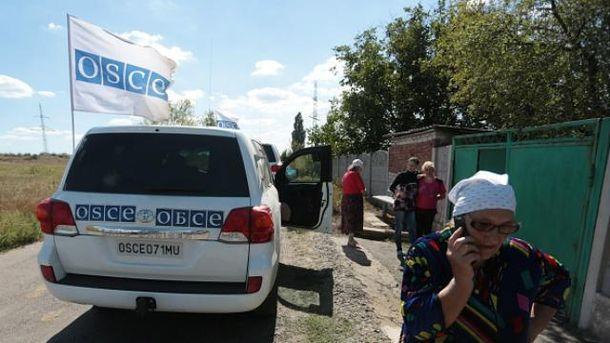 Наблюдатели ОБСЕ на Донбассе