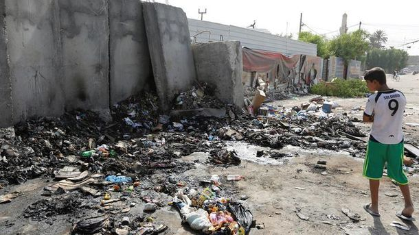 Взрыв в Багдаде унес жизни 11 человек