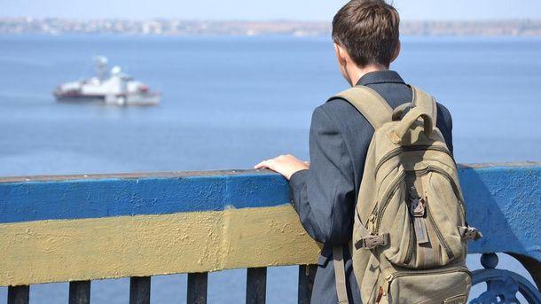 У парня нашли рюкзак с тетрадями (иллюстрация)