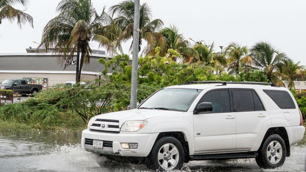 Ураган Мэтью ударил по Гаити
