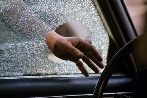 Розбите скло в авто