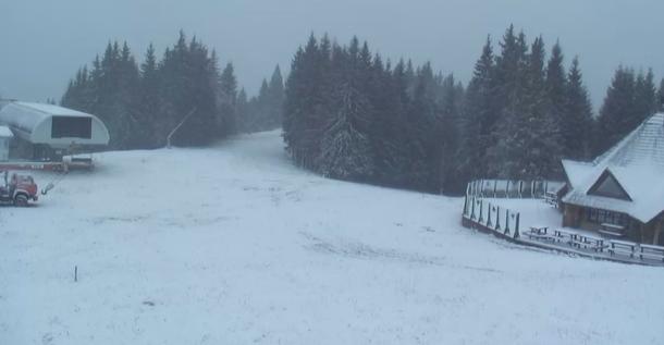 Карпати засипало снігом