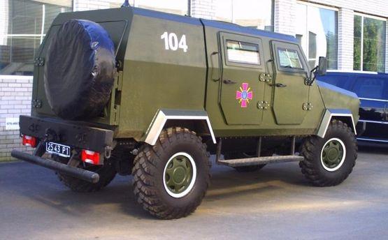 НаТернопольщине военный бронеавтомобиль сбил школьника