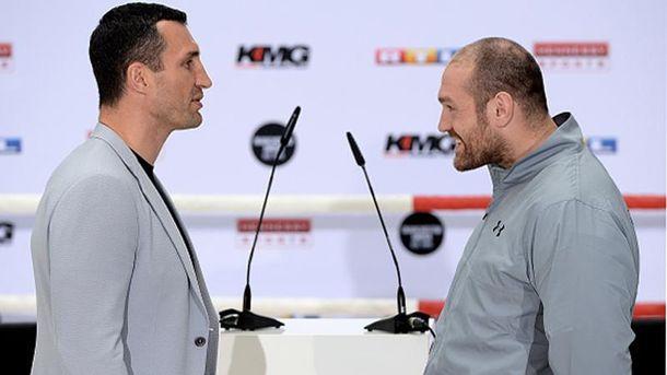 Владимир Кличко и Тайсон Фьюри
