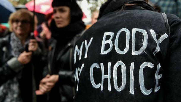 Після заборони абортів в Польщі почалися протести