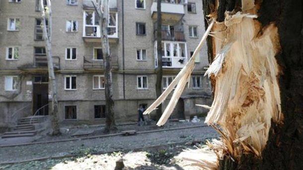Последствия взрыва в Макеевке
