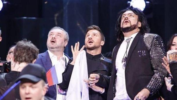 Російська делегація на Євробаченні-2016