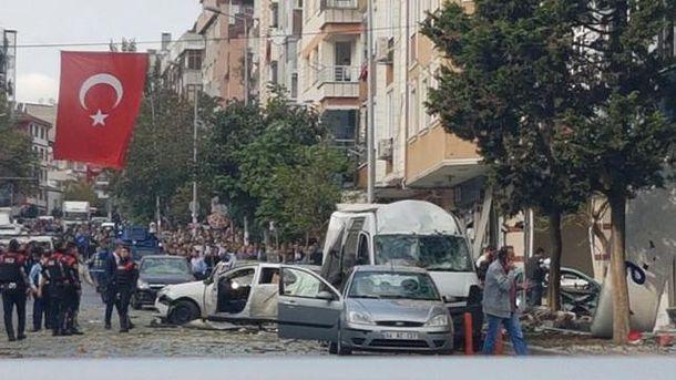 Вибух прогримів у Стамбулі