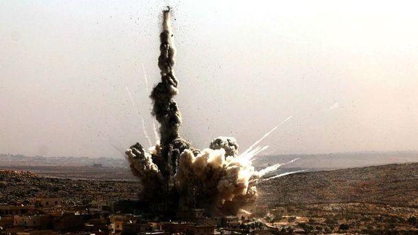 Последствия бомбардировки российской армией Алеппо
