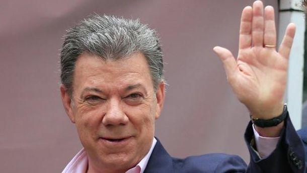Нобелівську премію миру віддали президенту Колумбії