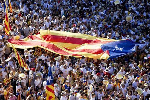 Мітинг за незалежність Каталонії