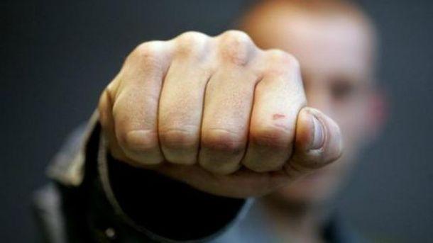 В Киеве жестоко избили бойца АТО