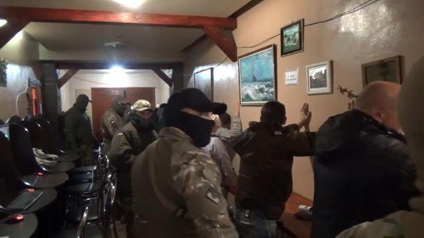 Взоне АТО разоблачили подпольное казино, где вербовали боевиков