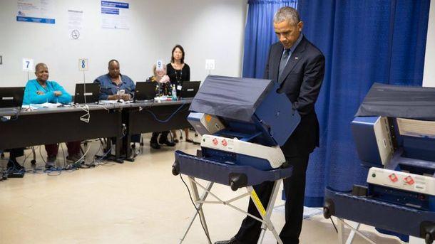 Обама уже проголосовал за своего преемника