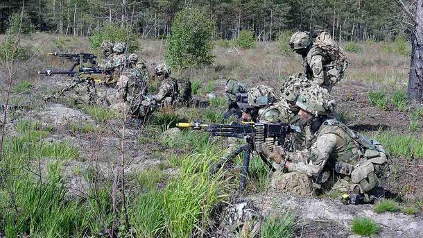 Обучение армии в Латвии