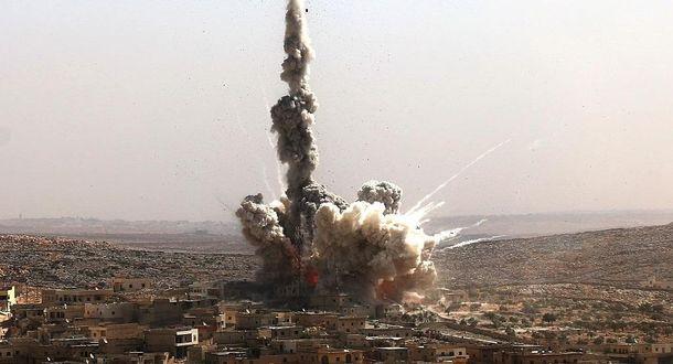 Разрушенный Алеппо