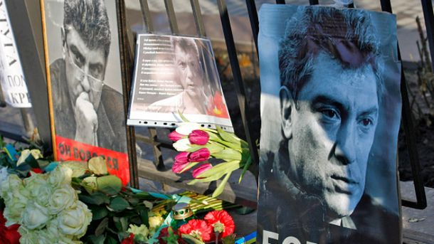 Немцова убили 27 февраля 2015 под стенами Кремля