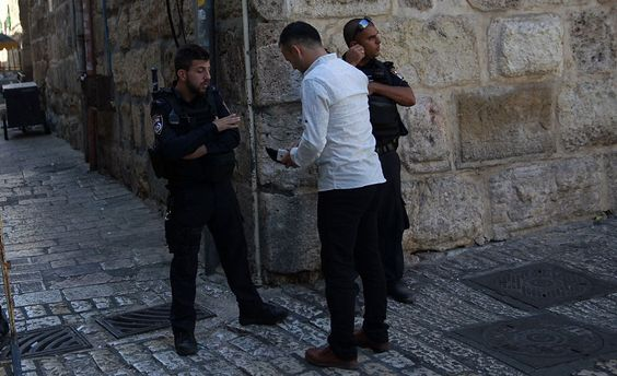 Поліція у Єрусалимі