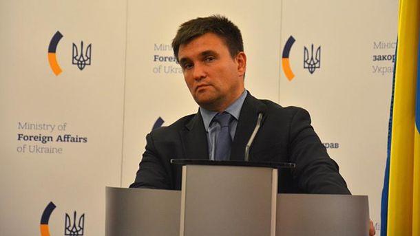 Клімкін розповів, чому він проти візового режиму зРосією