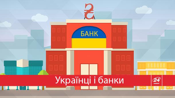 Сколько денег держат украинцы в банках