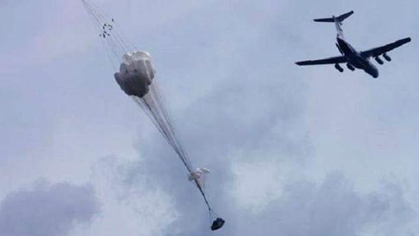 БМД-2 розбилась під час десантування