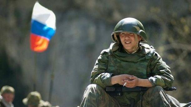 Російський солдат (ілюстрація)