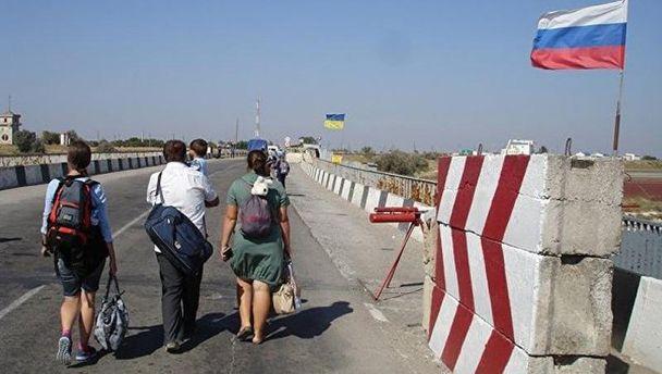 Кордон України з Кримом