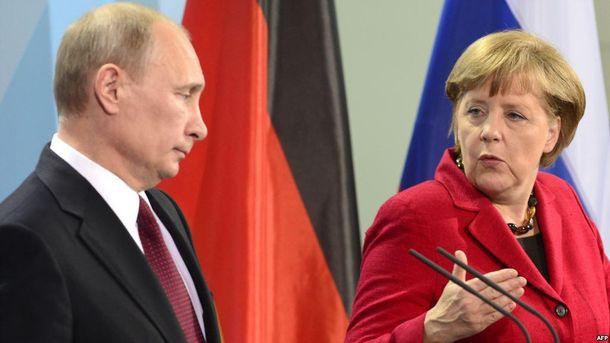 Чого Меркель вимагатиме від Путіна?