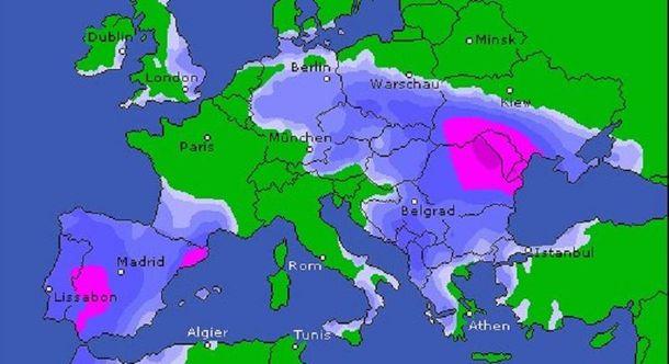 В четырех областях сильно ухудшится погода