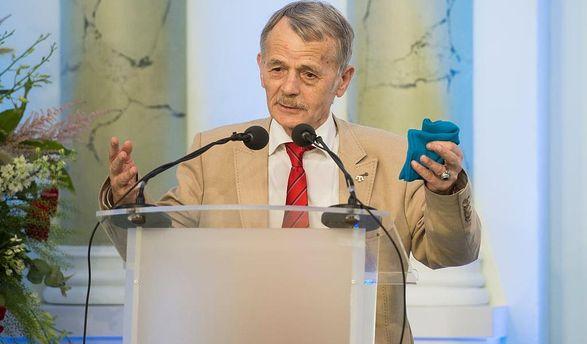 Джемілєв опинився утрійці лідерів напрестижну премію від ЄС