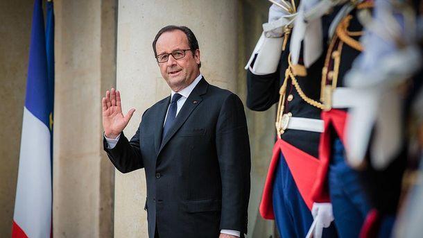 Франсуа Олланд верит в мир на Донбассе даже с российскими боевиками