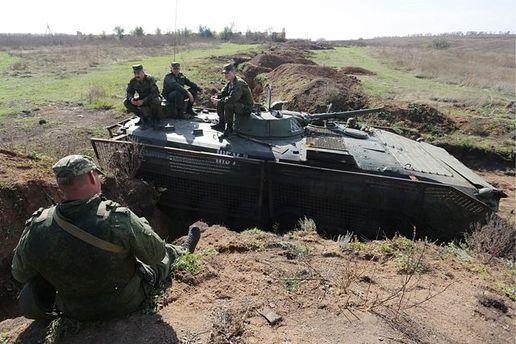 Українські військові на Донбасі