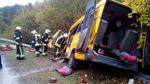 Аварія на Хмельниччині сталася на проблемній ділянці дороги
