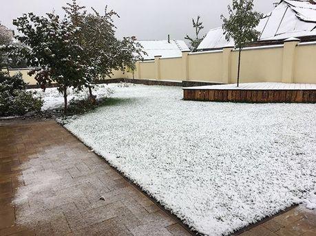 Снег в Виннице