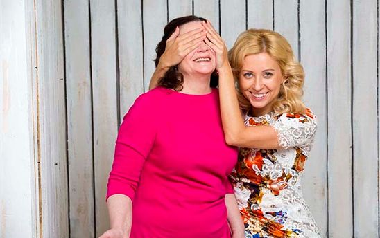 Тоня Матвиенко поздравила свою легендарную маму незаурядным тортом