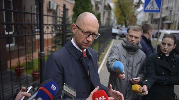 Яценюк пришел наочередной допрос поделу Майдана