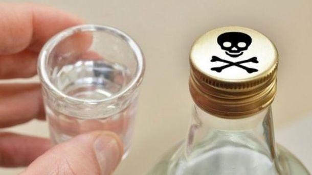 Від отруйного алкоголю вже померло понад півсотні українців