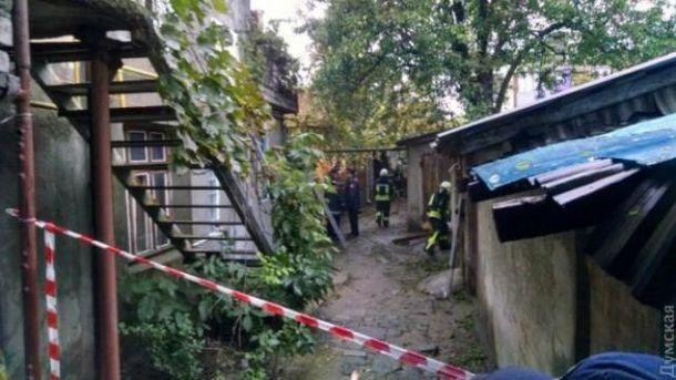В Одессе рухнул дом