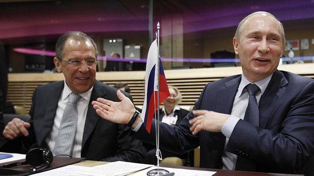 Путин и Лавров